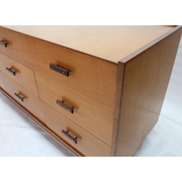 1950s Nine Drawers Two-Tone Finish Dresser For Sale - Image 5 of 8
