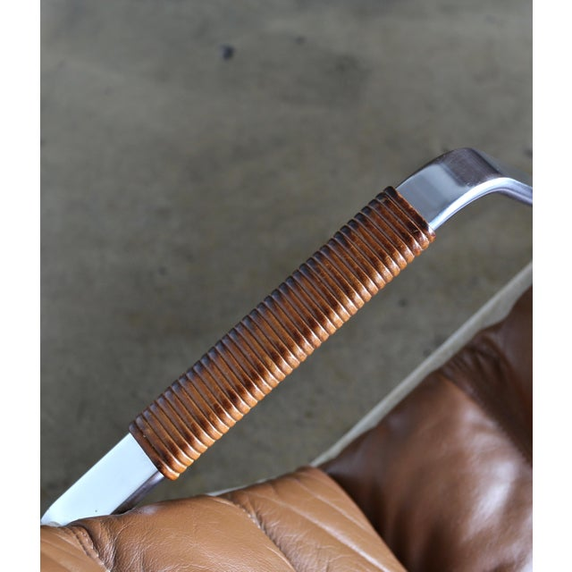 Preben Fabricius and Jørgen Kastholm for Alfred Kill Grasshopper Chaise For Sale - Image 10 of 13