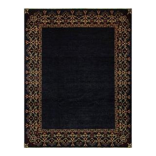 Kafkaz Peshawar Florinda Blue/Red Wool Rug - 9'3 X 12'4 For Sale