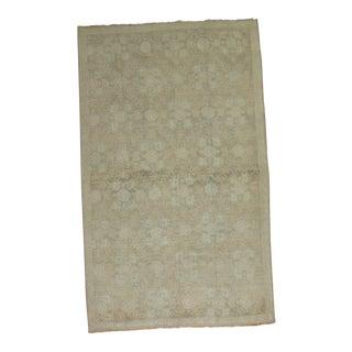 Pale Vintage Oushak Rug, 5'2'' x 8'1'' For Sale