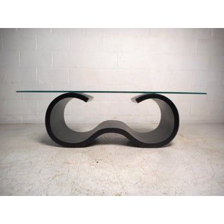 Vintage Modern Sculpted Coffee Table Preview