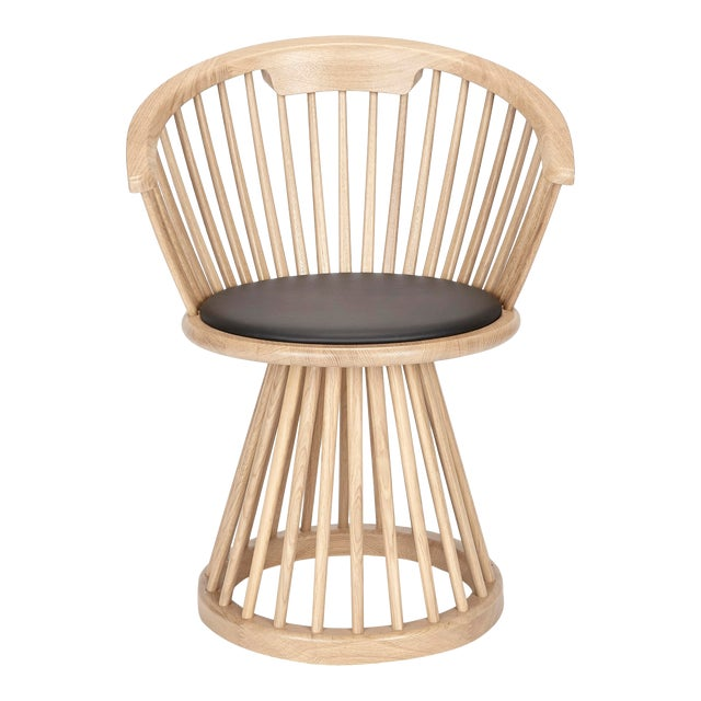 Tom Dixon Fan Dining Chair Natural For Sale