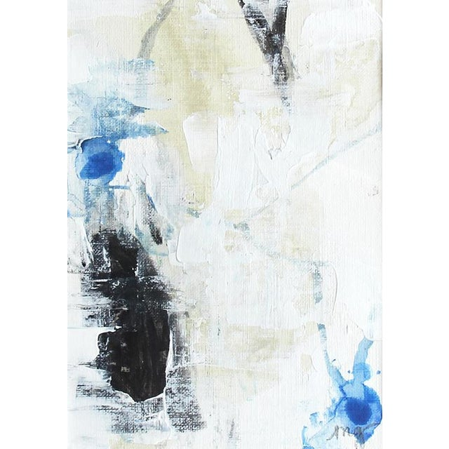 Abstract They Disentwine Framed Painting - Image 3 of 6