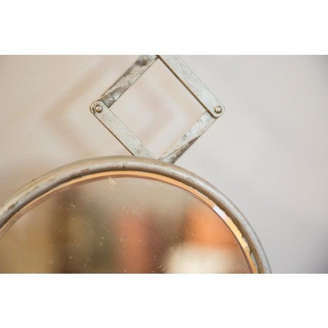 Antique Fleur De Lis Barber Mirror - Image 7 of 11