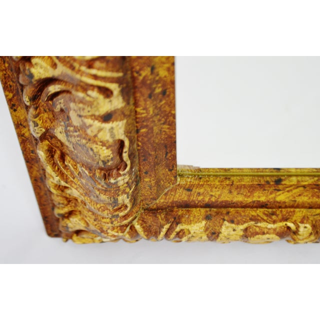 Decoratively Framed Bevelled Wall Mirror 34 x 28 - Image 6 of 8