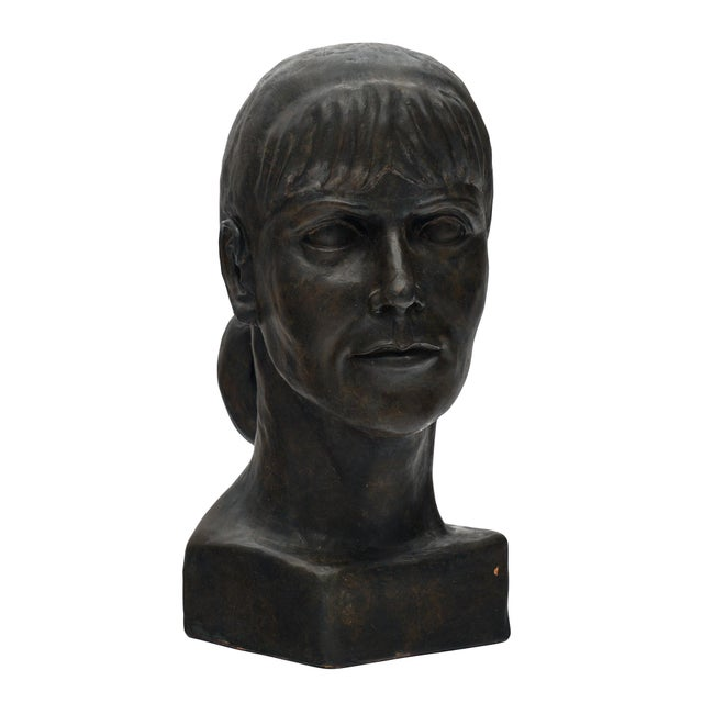 French Terracotta Bust For Sale - Image 10 of 10