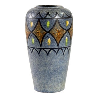 1960's Mid Century West German Vase For Sale