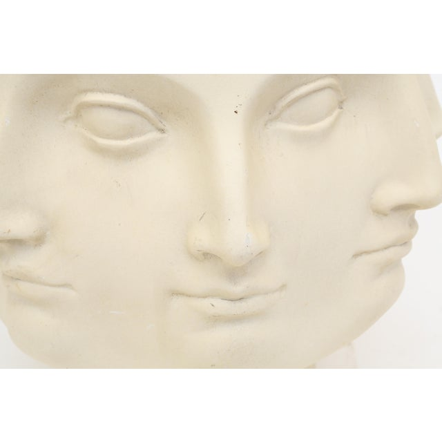 Fiberglass 2005 TMS Fornasetti Style Perpetual Dora Mara Face Vase For Sale - Image 7 of 7