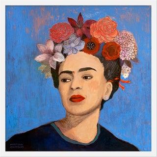 """Medium """"Burn It Blue"""" Print by Martyna Zoltaszek, 25"""" X 25"""" For Sale"""