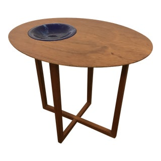 1960s Mid-Century Modern Teak Selig Side Table For Sale