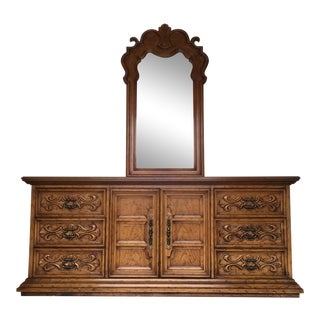 Velero by Drexel Dresser & Mirror For Sale