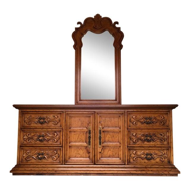 Velero by Drexel Dresser & Mirror For Sale