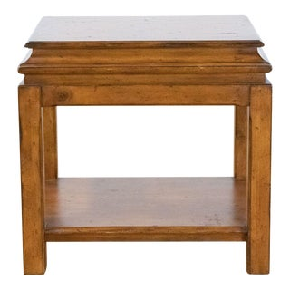 Rustic Ralph Lauren End Table For Sale