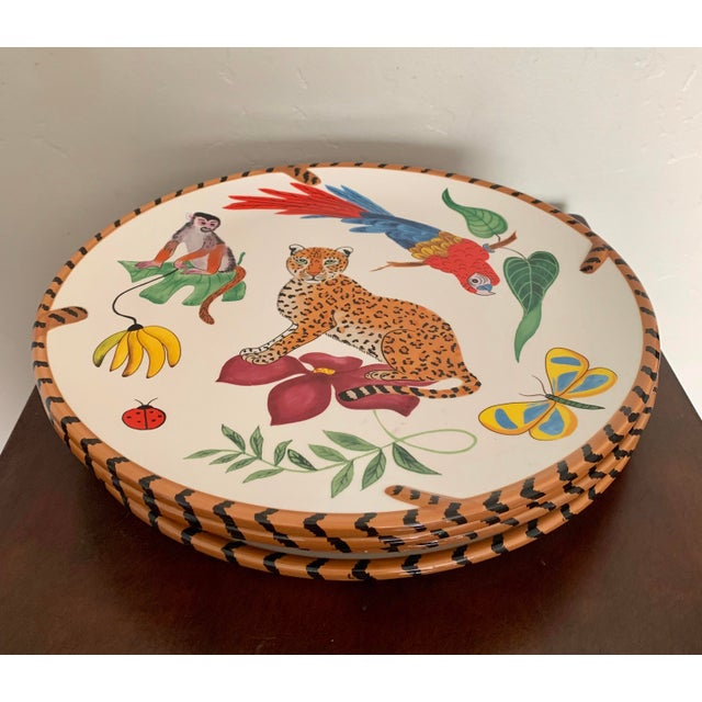 A rare find, no longer in stores! One of Lynn Chase's famous wildlife patterns, Jungle Jubilee has a wide array of...