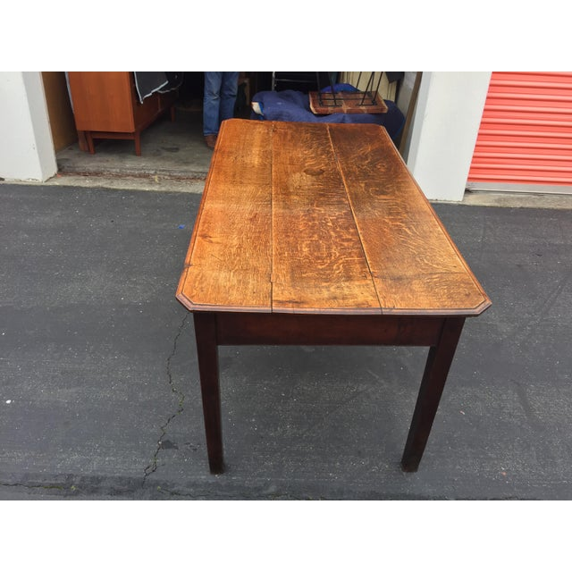 Antique French Farm Table With Drawers For Sale - Image 12 of 13