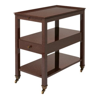Practical Nightstand in Porphyry - Miles Redd for The Lacquer Company For Sale