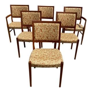 Mid Century Svegards Markaryd Teak Dining Chairs - Set of 6 For Sale