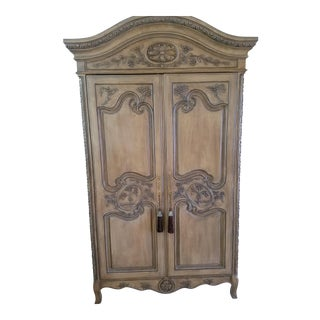 Antique French Media Armoire