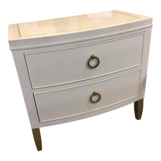 Bernhardt Contemporary Salon Nightstand For Sale