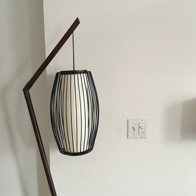 New York-Based Japanese Designer Floor Lamp - Image 6 of 8