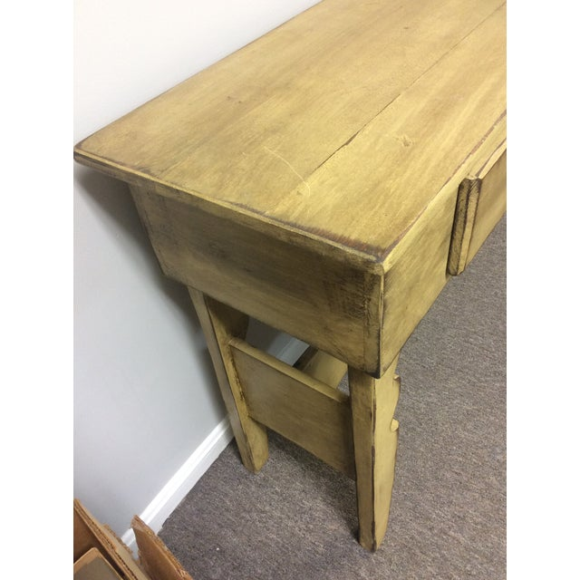 Wood 1980s Shabby Chic Sideboard Buffet For Sale - Image 7 of 8