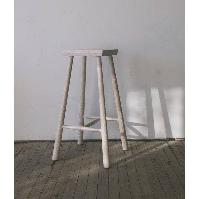 Not Yet Made - Made To Order Low Rung Stool by Blackcreek Mercantile Trading & Co. For Sale - Image 5 of 5