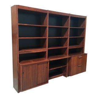 20th Century Scandinavian Modern Bookcase/Room Divider