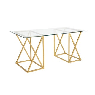 Chelsea House Inc Gilt Desk For Sale