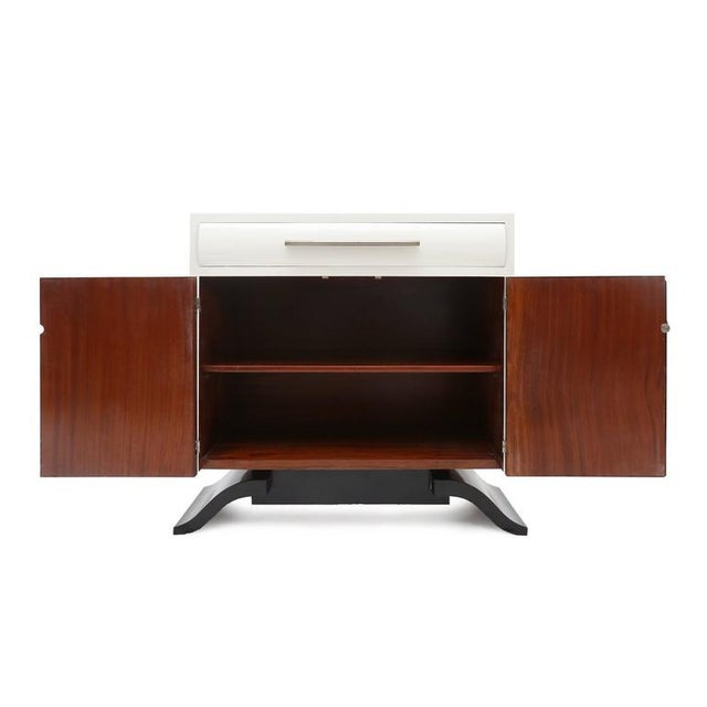 Belgian Art Deco Cabinet For Sale - Image 6 of 7