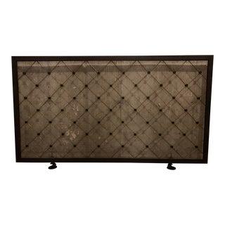Modern Custom Fire Screen For Sale