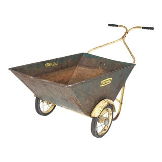 Vintage Craftsman Deluxe Lawn Cart