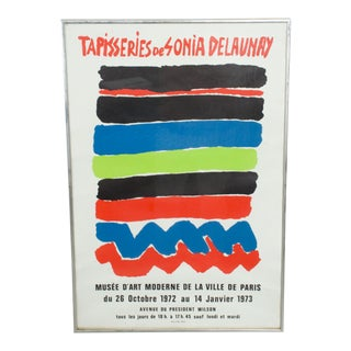 Tapisseries De Sonia Delaunay 1972 Paris Lithograph Poster For Sale