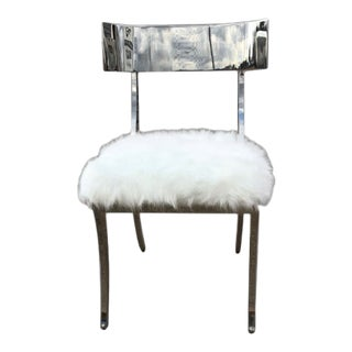 Bernhardt Gustav Metal Chair For Sale