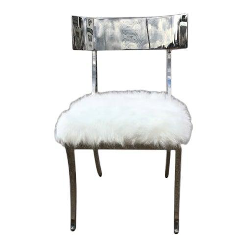 Bernhardt Gustav Metal Chair For Sale