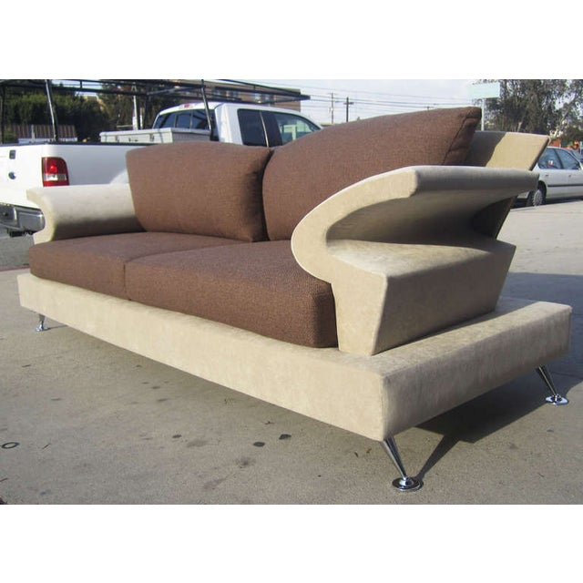 Sculptural Memphis Style Sofa by B&B Italia - Image 3 of 7