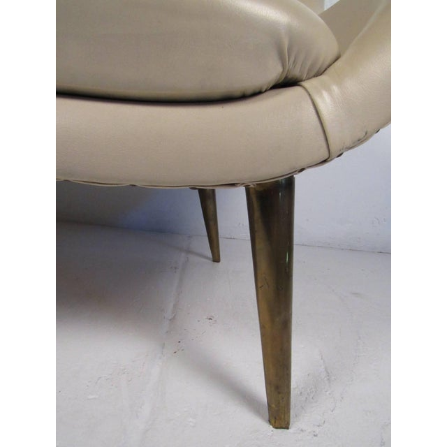 1950s Mid-Century Modern Loveseat For Sale - Image 5 of 8