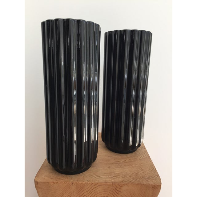 "George Sakier ""Lotus"" Vase for Fostoria Glass Company - a Pair For Sale - Image 11 of 12"