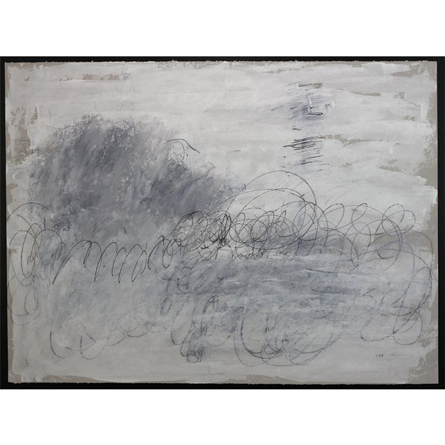 Unique. Acrylic ink and graphite on paper. Unframed. My work moves between spontaneity and deliberation; between stream-...