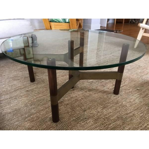 Danish Modern Design Within Reach Helix Coffee Table For Sale In Los Angeles - Image 6 of 6