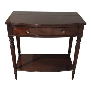 Baker Mahogany Nightstand For Sale