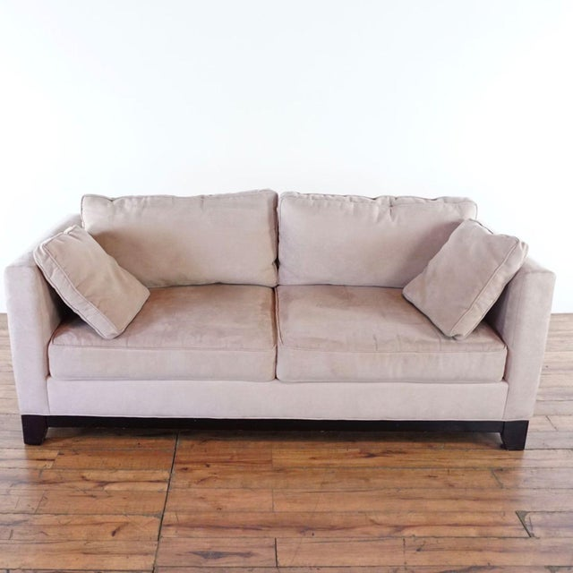 Bauhaus Upholstered Sofa. Brand is Bauhaus. Dimensions (in): 79.0 W x 36.0 D x 30.0 H.