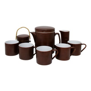LaGardo Tackett Tea Set - 10 Pieces For Sale