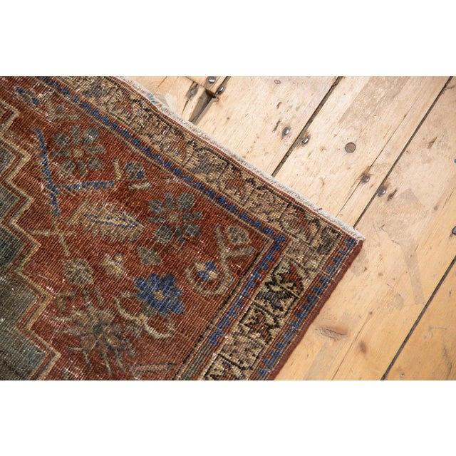 """Vintage Distressed Northwest Persian Rug - 4'3"""" X 6'3"""" For Sale - Image 12 of 13"""