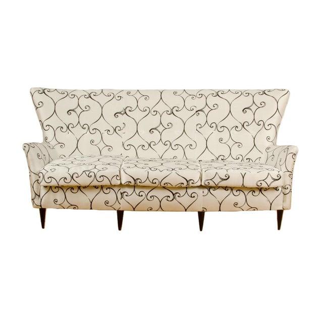 1950s Italian Paolo Buffa Style Sofa For Sale - Image 11 of 11