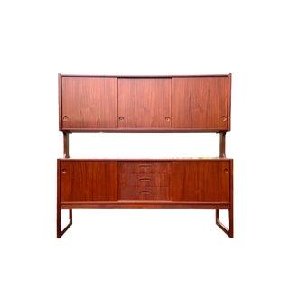 1960s Danish Modern Two-Tier Sideboard For Sale