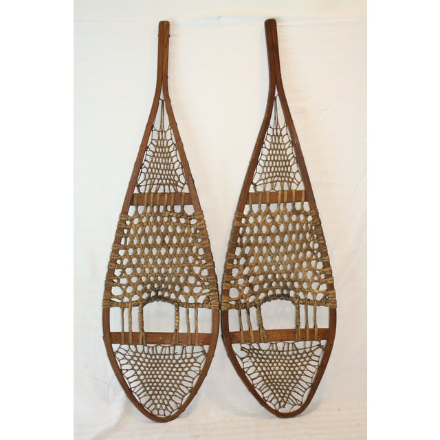 Vintage Snow Shoes - A Pair - Image 2 of 8