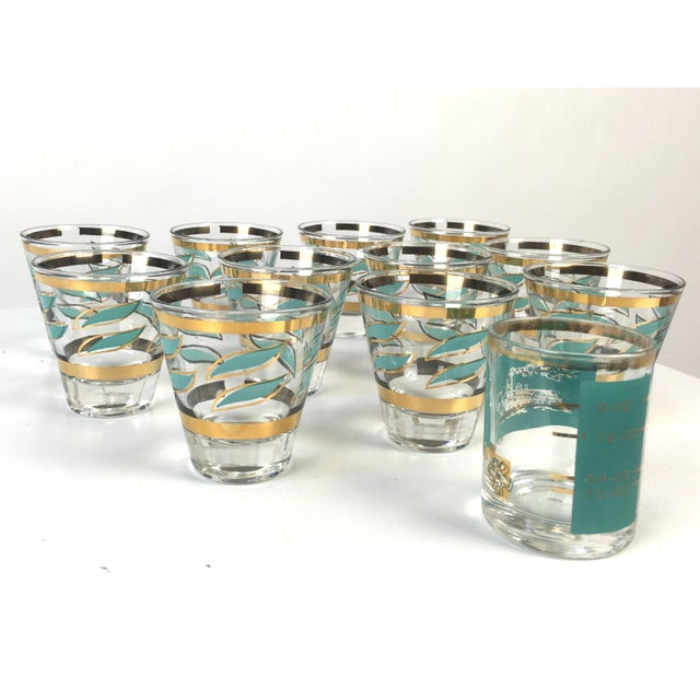Mid-Century Shot Glasses and Jigger - Set of 12 - Image 5 of 7
