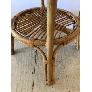 Bamboo Rattan Round Side End Preview