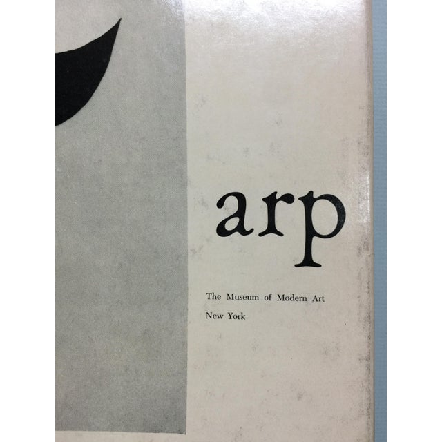 Rare Museum of Modern Art publication of the artwork of Jean Arp. Most of the images in the exhibition catalog are black...