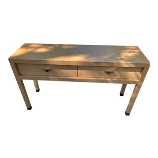 A. Soudivar Entryway Oxyde Console Table For Sale